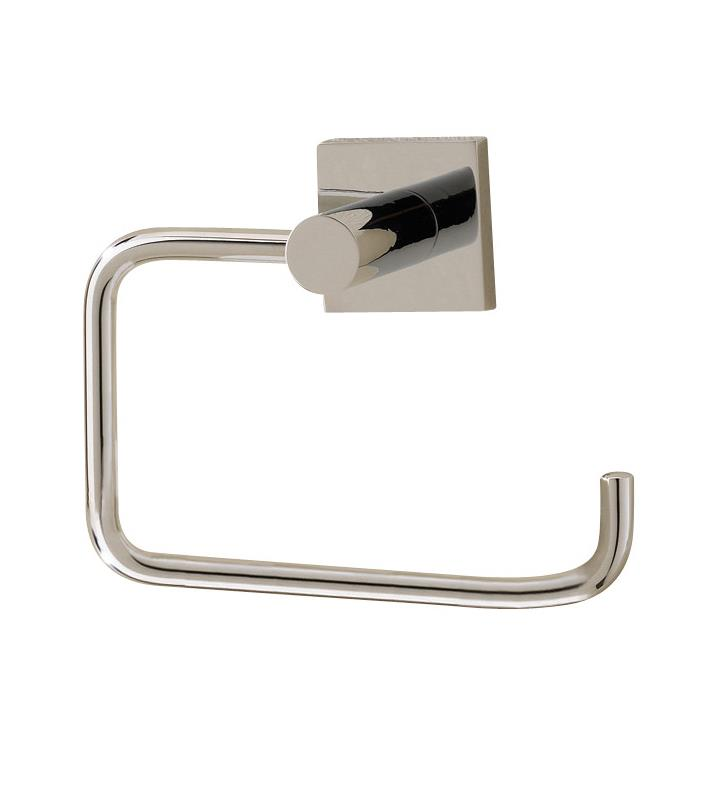 "Valsan 67624ES Braga 5 1/4"" Wall Mount Toilet Paper Holder With Finish: Satin Nickel"