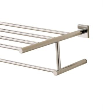 "Valsan 676632ES Braga 23 3/4"" Wall Mount Towel Rack With Finish: Satin Nickel"
