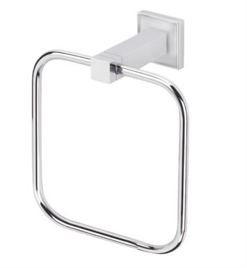 "Valsan 67440 Cubis Plus 5 1/2"" Wall Mount Towel Ring"