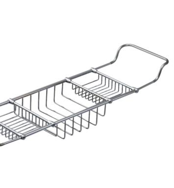 "Valsan 53405 Essentials 27"" Traditional Adjustable Bathtub Rack"