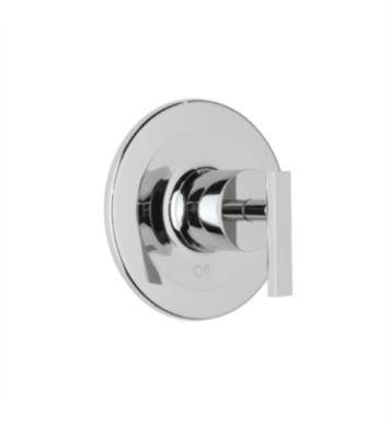 "Rohl BA100X-APC Modern 7 1/8"" Architectural Pressure Balance Trim without Diverter With Finish: Polished Chrome And Handles: Cross Handle"
