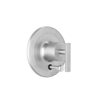 Rohl BA200X-STN Modern Architectural Pressure Balance Trim with Diverter With Finish: Satin Nickel And Handles: Cross Handle