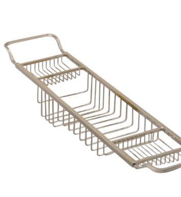 "Valsan 53414 Essentials 34"" Contemporary Adjustable Large Bathtub Rack"
