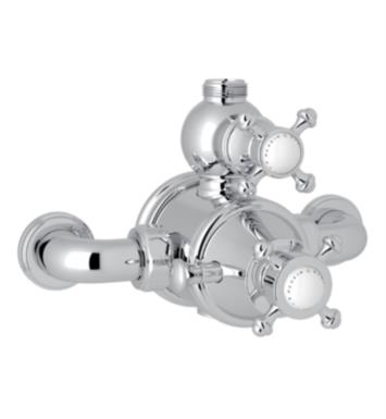 "Rohl U.5752X Perrin & Rowe 7 7/8"" Georgian Era Exposed Therm Valve with Volume and Temperature Control"