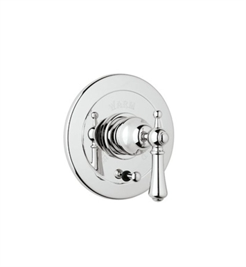 Rohl U.7700X-APC Georgian Era Shower Valve Trim (Trim Only) with Diverter and Metal Cross Handle With Finish: Polished Chrome