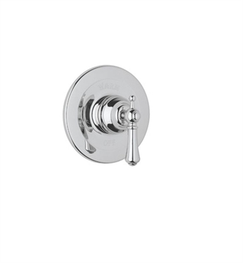 Rohl U.1700X-APC Georgian Era Shower Valve Trim (Trim Only) with Metal Cross Handle With Finish: Polished Chrome