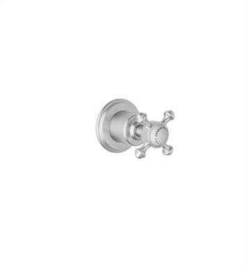 "Rohl U.3775-TO Georgian Era 3/4"" Wall Valve Trim Only with Metal Cross Handle"