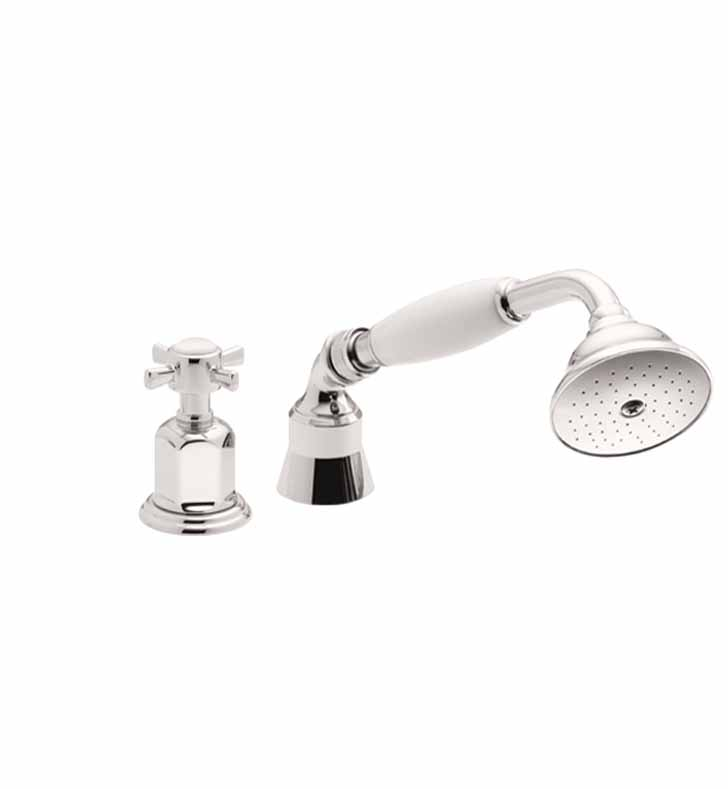 California Faucets TO-34.13 Traditional Handshower & Diverter Trim for Roman Tub