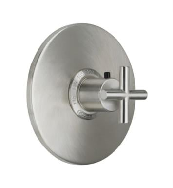 "California Faucets TO-THN-65-SC Tiburon 7 1/4"" StyleTherm Thermostatic Round Valve Trim With Finish: Satin Chrome <strong>(USUALLY SHIPS IN 1-3 WEEKS)</strong>"