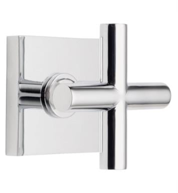 "California Faucets TO-65-WC-SC Tiburon 2 1/4"" Wall Mount Trim with Square Base Ring With Finish: Satin Chrome <strong>(USUALLY SHIPS IN 1-3 WEEKS)</strong>"