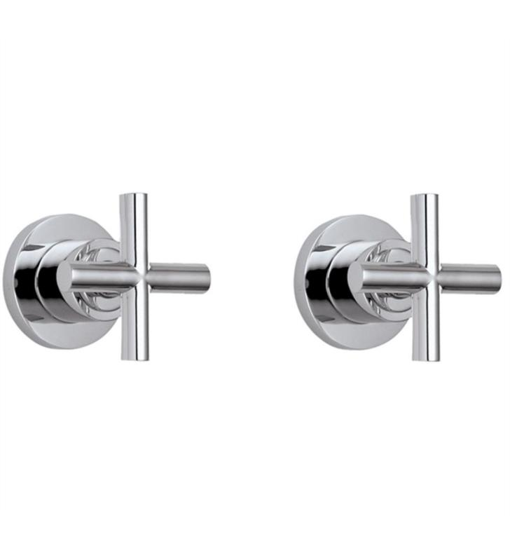 "California Faucets TO-6506L-PN Tiburon 8"" Two Handle Tub or Shower Trim Only With Finish: Polished Nickel <strong>(USUALLY SHIPS IN 5-12 BUSINESS DAYS)</strong>"
