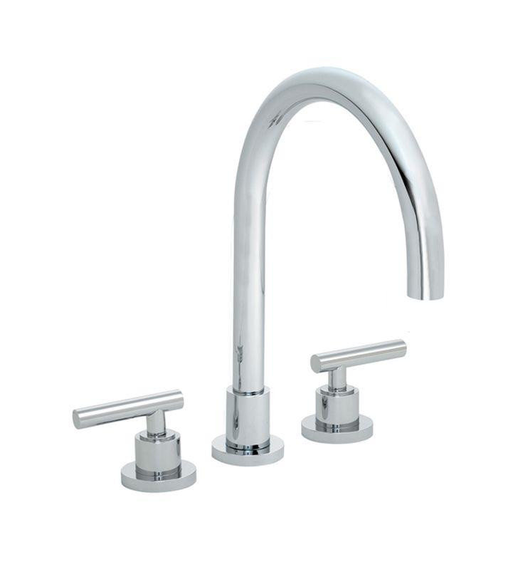 "California Faucets TO-6608-PC Montara 10 5/8"" Two Handle Widespread/Deck Mounted Roman Tub Trim Faucet Set With Finish: Polished Chrome <strong>(USUALLY SHIPS IN 1-5 BUSINESS DAYS)</strong>"