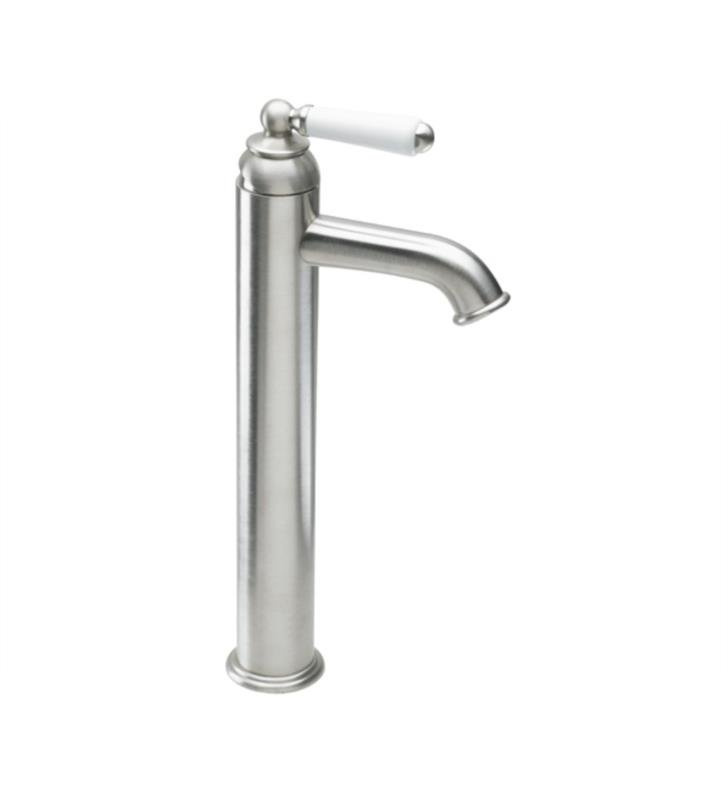 "California Faucets 3501-2-PN Belmont 6"" Single Handle Vessel Bathroom Sink Faucet With Finish: Polished Nickel <strong>(USUALLY SHIPS IN 5-12 BUSINESS DAYS)</strong>"