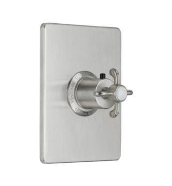 "California Faucets TO-THCN-67-WB Humboldt 5 7/8"" StyleTherm Thermostatic Trim Only With Finish: Weathered Brass <strong>(USUALLY SHIPS IN 5-12 BUSINESS DAYS)</strong>"