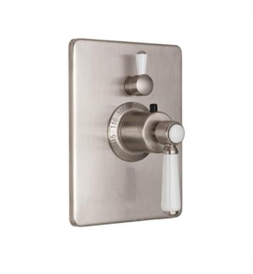 "California Faucets TO-THC1L-35-SRB Belmont 5 7/8"" StyleTherm Trim Only with Single Volume Control With Finish: Satin Rose Bronze <strong>(USUALLY SHIPS IN 6-8 WEEKS)</strong>"