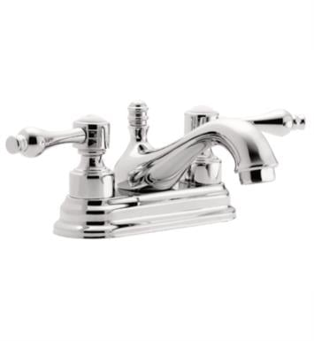"California Faucets T3601-SN Encinitas 6"" Double Handle Centerset Bathroom Sink Faucet With Finish: Satin Nickel <strong>(USUALLY SHIPS IN 1-5 BUSINESS DAYS)</strong>"