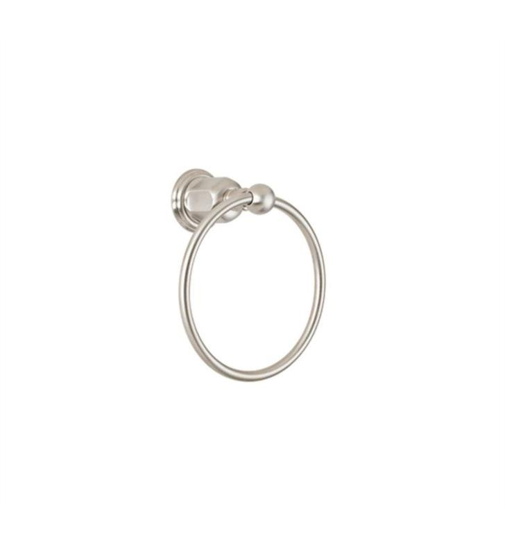 "California Faucets 34-TR-GRP 3 1/4"" Wall Mount Towel Ring With Finish: Graphite <strong>(USUALLY SHIPS IN 3-5 WEEKS)</strong>"