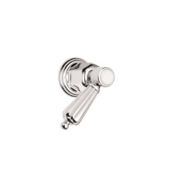 "California Faucets TO-68-W-PN San Clemente 2 1/8"" Wall/Deck Mounted Handle Trim With Finish: Polished Nickel <strong>(USUALLY SHIPS IN 5-12 BUSINESS DAYS)</strong>"