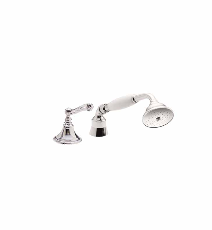 California Faucets TO-38.13 Traditional Handshower & Diverter Trim for Roman Tub