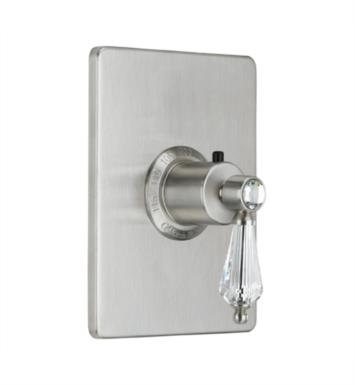 "California Faucets TO-THCN-69-SN Crystal Cove 5 7/8"" StyleTherm Thermostatic Trim Only With Finish: Satin Nickel <strong>(USUALLY SHIPS IN 1-5 BUSINESS DAYS)</strong>"