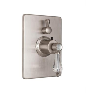 "California Faucets TO-THC1L-69-MOB Crystal Cove 5 7/8"" StyleTherm Trim Only with Single Volume Control With Finish: Mocha Bronze <strong>(USUALLY SHIPS IN 2-4 WEEKS)</strong>"