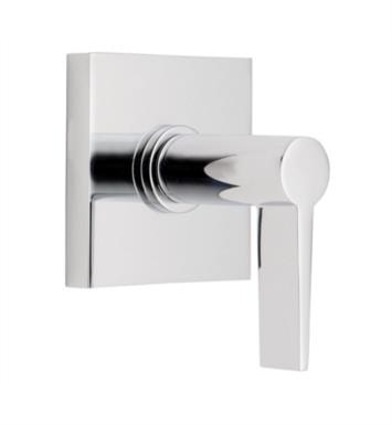 "California Faucets TO-71-WC-SB Palos Verdes 2 1/8"" Wall/Deck Mounted Handle Trim with Square Base Ring With Finish: Satin Brass <strong>(USUALLY SHIPS IN 4-6 WEEKS)</strong>"