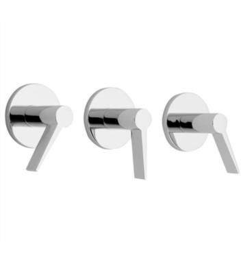 "California Faucets TO-7103L-SS Palos Verdes 8"" Three Handle Tub and Shower Trim With Finish: Stainless Steel <strong>(USUALLY SHIPS IN 2-4 WEEKS)</strong>"