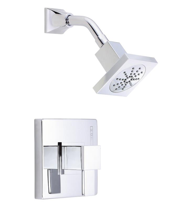 Danze D500533T Reef Single Handle Pressure Balance Shower Only Trim Kit with Showerhead