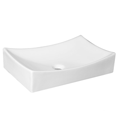 Fresca FVS6123WH Distante Bathroom Vessel Sink