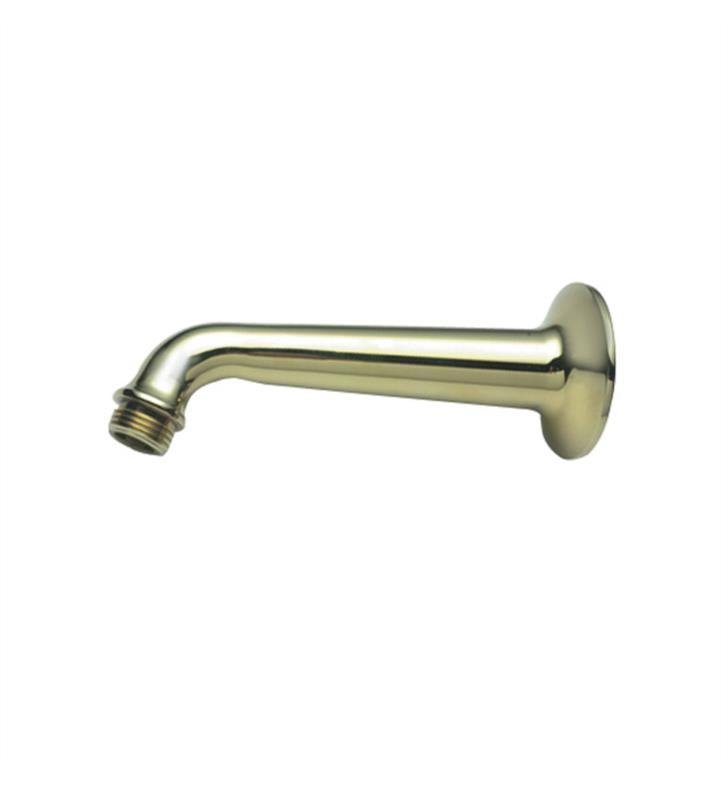 "California Faucets SH-01.6-GRP 6"" Shower Arm & Flange With Finish: Graphite <strong>(USUALLY SHIPS IN 3-5 WEEKS)</strong>"