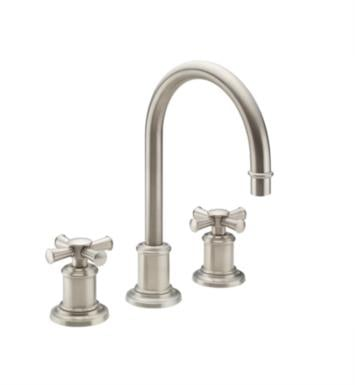"California Faucets 4802X-FRG Miramar 7 5/8"" Double Handle Widespread Bathroom Sink Faucet With Finish: French Gold <strong>(USUALLY SHIPS IN 6-8 WEEKS)</strong>"