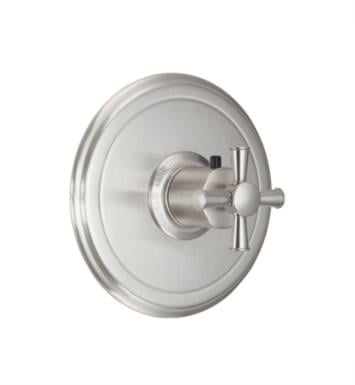 "California Faucets TO-THN-48X-BIS Miramar 7 1/4"" StyleTherm Thermostatic Round Valve Trim With Finish: Biscuit <strong>(USUALLY SHIPS IN 1-3 WEEKS)</strong>"