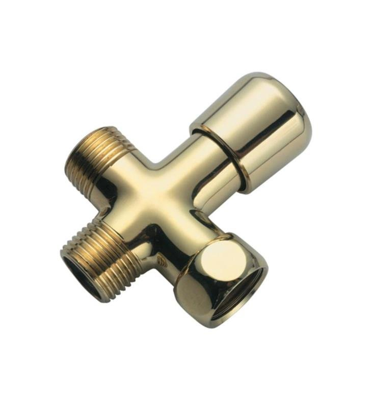 California Faucets SH-30-LSG Shower Arm Diverter With Finish: Lifetime Satin Gold <strong>(USUALLY SHIPS IN 3-5 WEEKS)</strong>