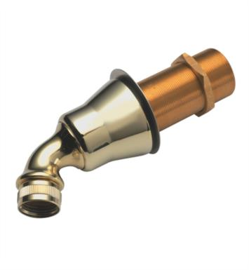 California Faucets 9145-LPG Deck Handshower Flange Kit With Finish: Lifetime Polished Gold <strong>(USUALLY SHIPS IN 2-4 WEEKS)</strong>