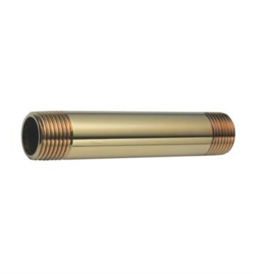 "California Faucets 9022-RBZ 4"" Brass Nipple With Finish: Rustico Bronze <strong>(USUALLY SHIPS IN 1-2 WEEKS)</strong>"