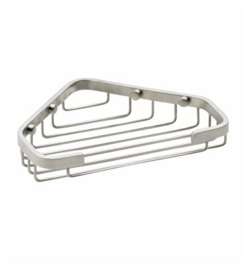 "California Faucets 9455-WHT 7 7/8"" Corner Shower Basket With Finish: White <strong>(USUALLY SHIPS IN 1-3 WEEKS)</strong>"