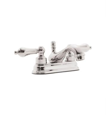 "California Faucets T5501-SBZ Coronado 6"" Double Handle Centerset Bathroom Sink Faucet With Finish: Satin Bronze <strong>(USUALLY SHIPS IN 6-8 WEEKS)</strong>"