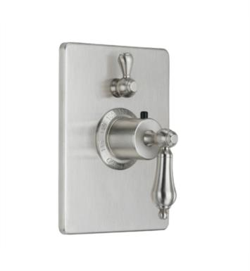 "California Faucets TO-THC1L-55 Coronado 5 7/8"" StyleTherm Trim Only with Single Volume Control"