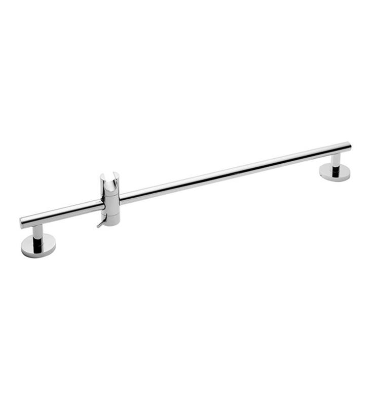 "California Faucets SB-62-SC 62 Series 2 3/8"" Contemporary Wall Mount Slide Bar With Finish: Satin Chrome <strong>(USUALLY SHIPS IN 1-3 WEEKS)</strong>"