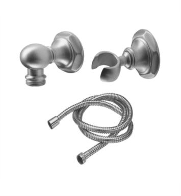"California Faucets 9125-47 Venice 2 1/8"" Hex Wall Mounted Handshower Kit"