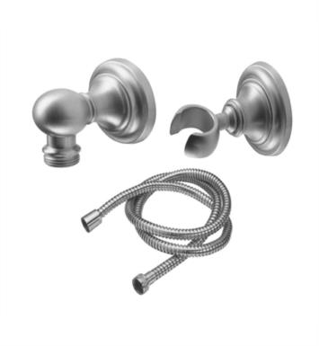 "California Faucets 9125-48-LSG Miramar 2 3/8"" Concave Wall Mounted Handshower Kit With Finish: Lifetime Satin Gold <strong>(USUALLY SHIPS IN 3-5 WEEKS)</strong>"