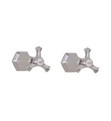 "California Faucets TO-6306L-ORB Catalina 8"" Two Handle Tub and Shower Trim Only With Finish: Oil Rubbed Bronze <strong>(USUALLY SHIPS IN 3-9 BUSINESS DAYS)</strong>"