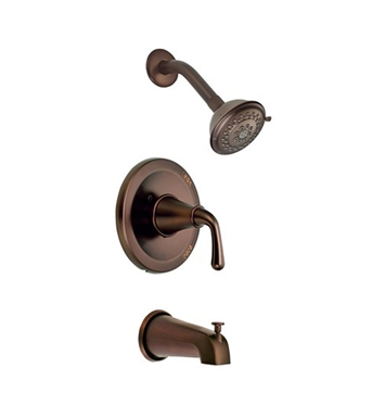 Danze D500056RBT Bannockburn™ Trim Only Single Lever Handle Tub & Shower Faucet in Antique Brass