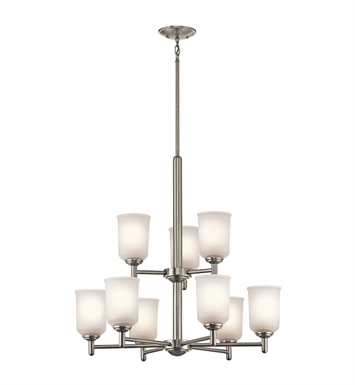 Kichler 43672OZ Chandelier 9 Light With Finish: Olde Bronze