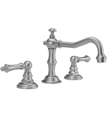 "Jaclo 7830-T679-EB Roaring 20's 6 7/8"" Widespread Ball Lever Handle Bathroom Sink Faucet with Standard Drain With Finish: Europa Bronze And Flow Rate: 1.5 GPM"