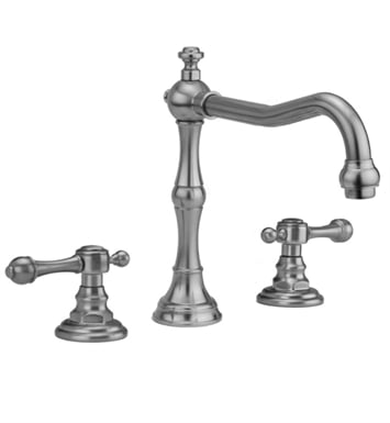 Jaclo 9930-T692-TRIM-PCU Roaring 20's Roman Tub Faucet with Finial Lever Handles With Finish: Polished Copper