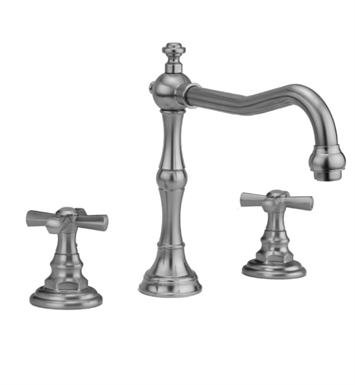 Jaclo 9930-T676-TRIM-PG Roaring 20's Roman Tub Faucet with Hex Cross Handles With Finish: Polished Gold