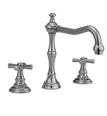 Jaclo 9930-T676-TRIM-SG Roaring 20's Roman Tub Faucet with Hex Cross Handles With Finish: Satin Gold