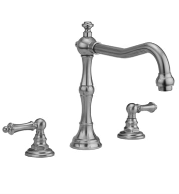 Jaclo 9930-T679-TRIM-TB Roaring 20's Roman Tub Faucet with Traditional Lever Handles With Finish: Tristan Brass