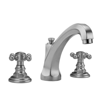 Jaclo 6972-T678-TRIM-VB Westfield High Spout Roman Tub Faucet with Traditional Cross Handles With Finish: Vintage Bronze